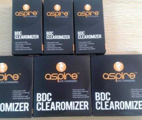 Aspire BDC Cartomizer Tank Coil Heads 5 Pack