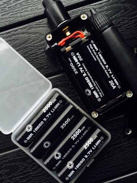 hexohm battery samsung 25r 25r5 lithium ion IMR