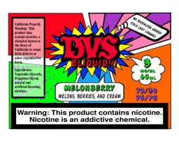 Melonberry by DVS E-liquid