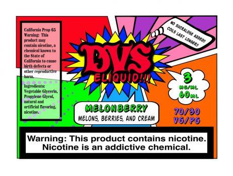 Melonberry by DVS E-liquid